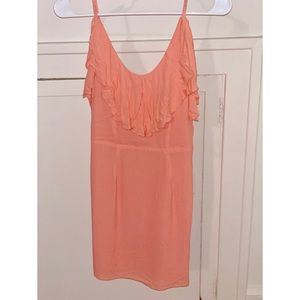 By the Way revolve peach mini dress